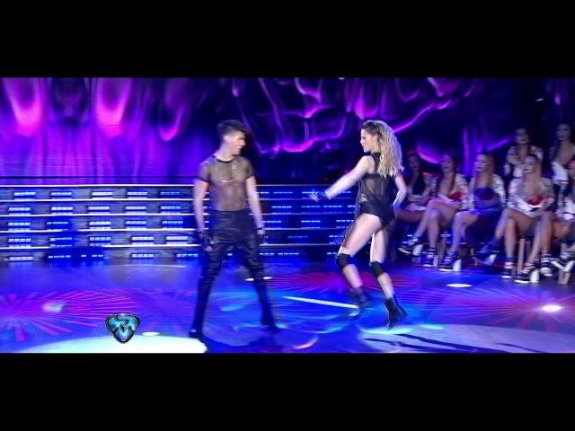 Fernando Vázquez de Rombai bailó un reggaeton caliente en Showmatch