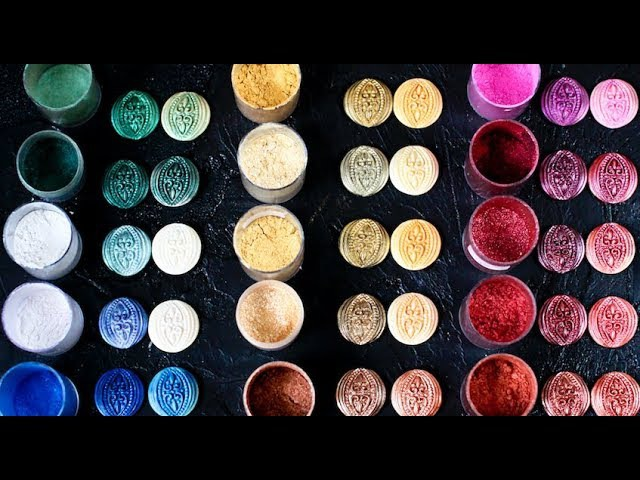 Кандурины. Блестящие пищевые красители | Мария Маграт