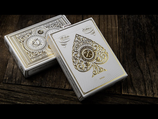 Карты ARTISAN - White Edition Playing Cards [theory11]