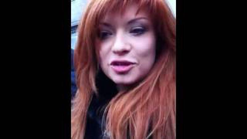 Рыжеволосая подруга Немцова