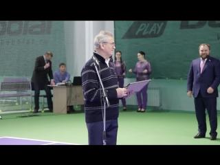 Жителей Спутника пригласили на занятия в теннисный клуб
