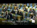 Discursul premierului Filip de la tribuna ONU: Moldova solicită înscrierea în agenda Adunării Generale a unui punct privind retr