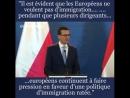 EUROPE : LA POLOGNE ET LA HONGRIE VEULENT FAIRE BLOC CONTRE L'IMMIGRATION.