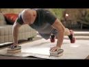 Упражнения для грудных мышц глубокие отжимания Домашние тренировки с Денисом Семенихиным