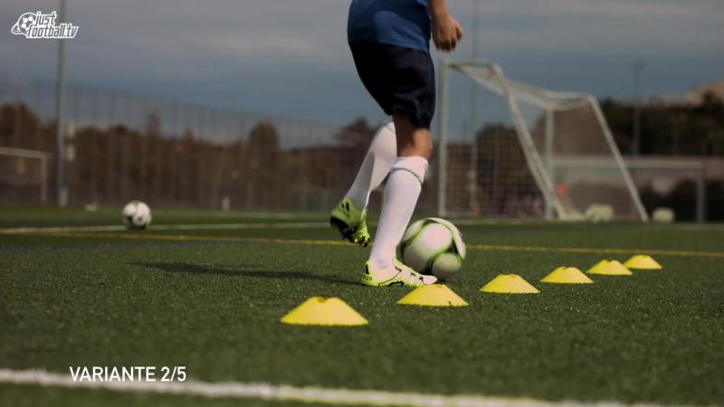 Fussballtraining_ 6er Reihe Teil 3 - Ballkontrolle - Technik