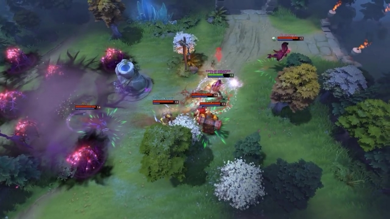 Dota 2 Daily WTF - 4 Targets NO Scape