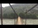 Алтай, п. Чемал, мост через р. Катунь