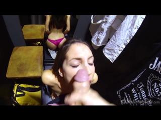 Mysweetapple - fitting room fun [минет, blowjob, в примерочной, hd]