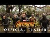 Мстители: Война бесконечности – дублированный тизер-трейлер