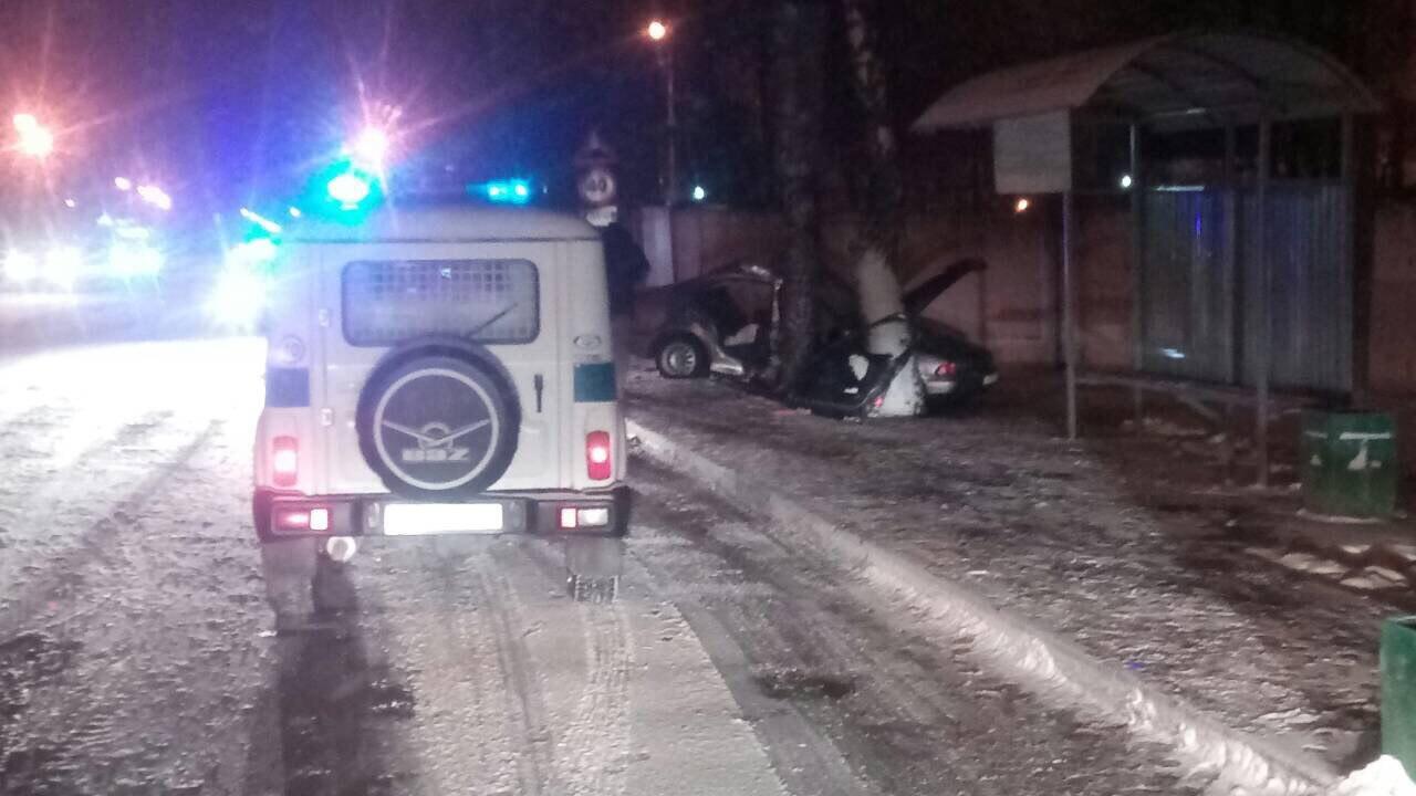 На ул. Лейтенанта Рябцева крупное ДТП с участием автомобиля БМВ