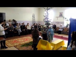 Детский Рождественский утренник в Крестовоздвиженском 4