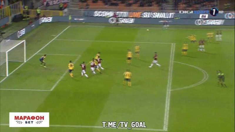 Милан 1-0 Верона | Сусо