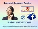Facebook Customer Service 1-850-777-3086- A Decisive Tool To Fix Technical Bugs