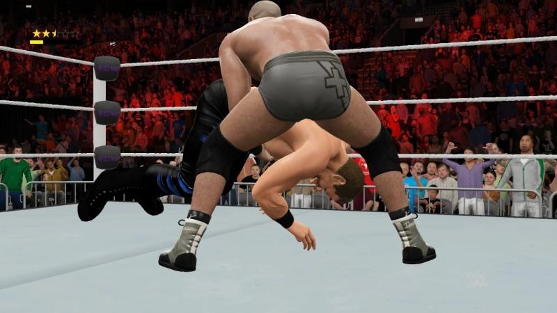 WWE2K17 Chris Benoit vs Cesaro