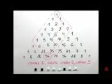 GetAClass - Треугольник Паскаля 3. Комбинаторика