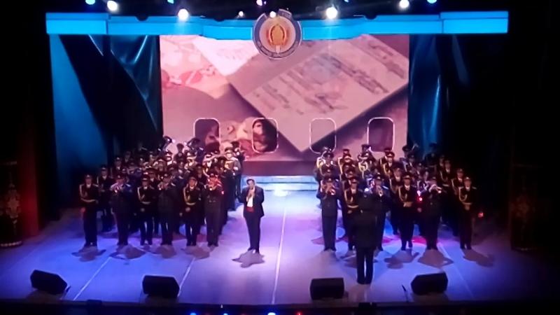 Щит и меч моей державы концерт посвященный Дню милиции финальная песня