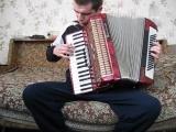 На сопках маньчжурии(автор Шатров Илья Алексеевич) - исполняет на аккордеоне salgariUA .ААМ