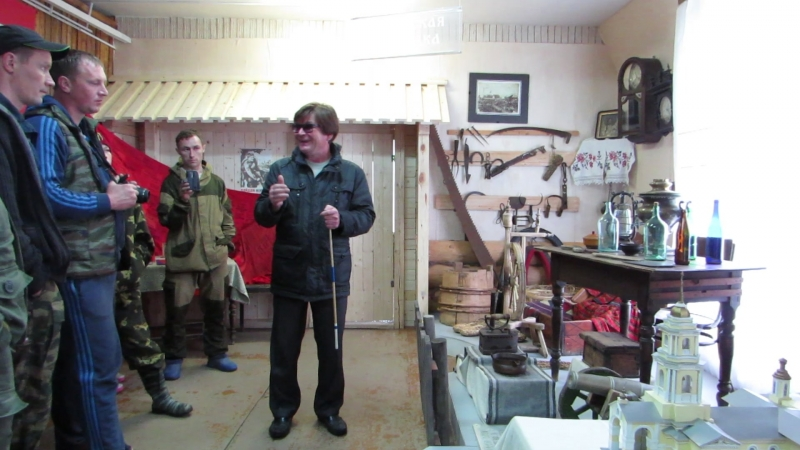 Село Дебёсы. В Музее истории Сибирского тракта. (1)