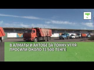 Как менялись цены на уголь в Казахстане