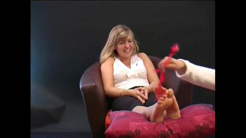 Marinas Feet Gets Tickled