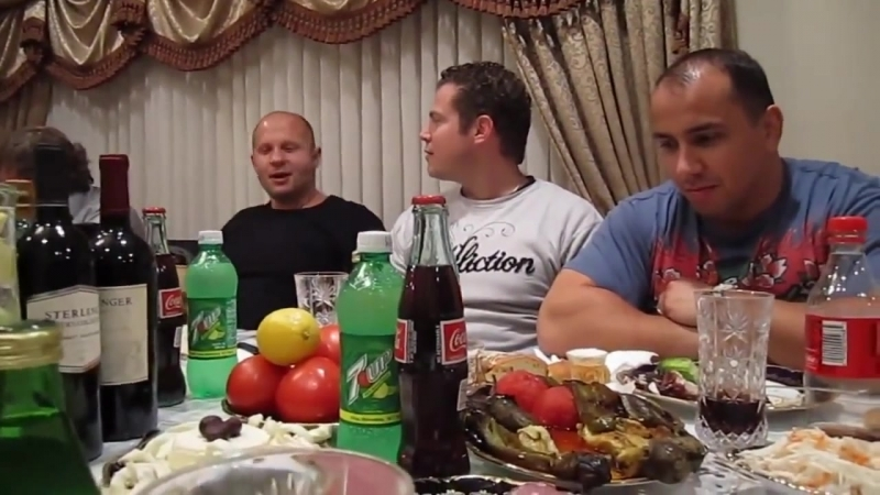 Фёдор Емельяненко в гостях русской мафии в США