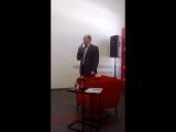 Президент РФПЛ Сергей Прядкин в Клубе экспертов Советского спорта