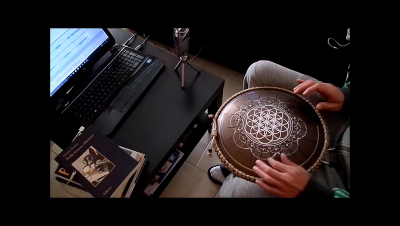 VIBE SOLDIER practice with my Flower of Life GUDA DRUM mini