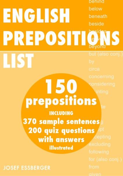 preposition list grammar englishclub - 500×715