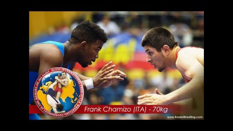 70kg Finals: Magomedrasul Gazimagomedov (RUS) vs Frank Chamizo (ITA) - Ali Aliev 2017