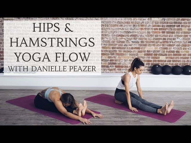 HAMSTRINGS HIPS YOGA FLOW | All Levels with Danielle Peazer | CAT MEFFAN