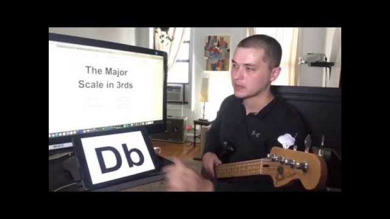 5-hour major scale practice routine