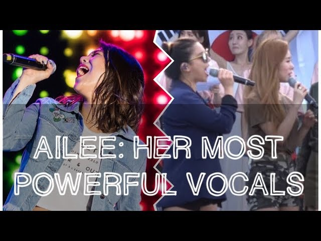 Ailees (에일리) Most Powerful Vocals Leaving other idols and audiences SHOOK!