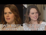 Daisy Ridley 'Murder on the Orient Express' Press Conference Interviews (2017)
