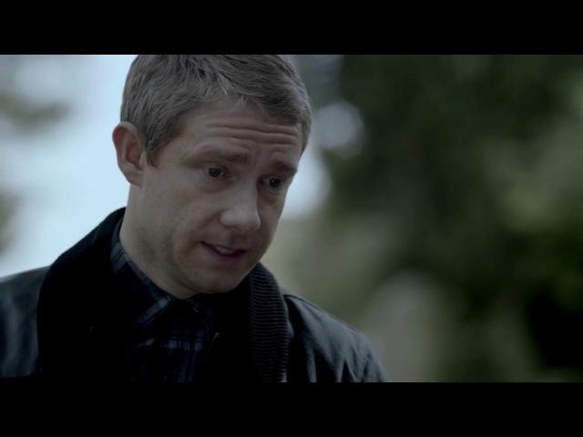 Джон у могилы Шерлока