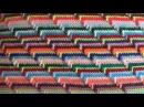 Рельефный узор крючком Groovyghan A relief pattern crocheted