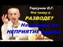 Торсунов О.Г. Что толку в РАЗВОДЕ? Наказание за НЕПРИЯТИЕ СУДЬБЫ