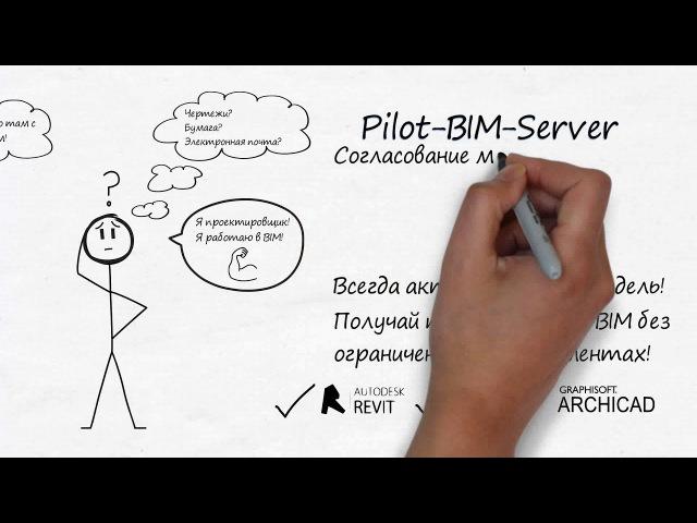 Pilot BIM Server получай преимущества BIM без ограничения в инструментах