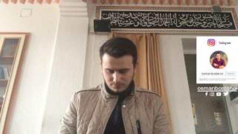Mahfilden Nida Osman Bostancıİnfitar Suresi Tamamı (Mealli)