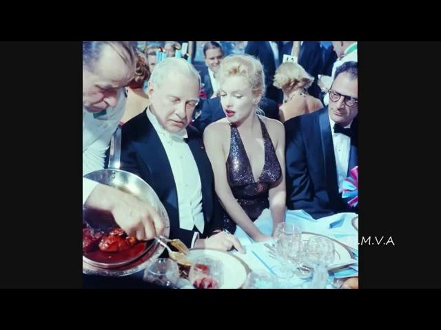 Редкие кадры: Мэрилин Монро и Артур Миллер (Париж, 11 апреля 1957 г.)