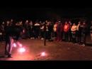Fire clubs juggling fail