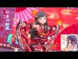 「デレステ」花簪 HANAKANZASHI (Game ver.) Refresh 小早川紗枝 + 半分紙吹雪 振袖3人組 SSR