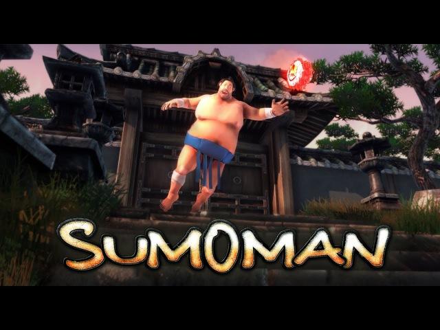 Sumoman - Добрый,милый толстячок-сумоист! ►Проба на вкус