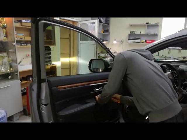 Снятие дверной карты honda cr v 2017 обшивки дверей демонтаж шумоизоляция виброизоляц смотреть онлайн без регистрации