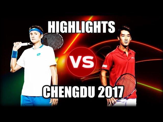 Denis Istomin vs Yuichi Sugita CHENGDU 2017 Highlights