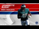 LeGarrette Blount Goes Full Beast Mode Against LA | Eagles vs. Chargers | Wk 4 Player Highlights