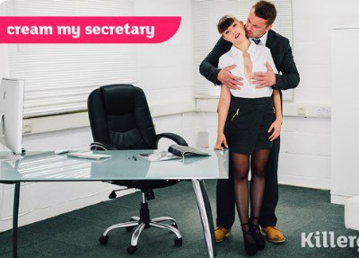 Cream My Teen Secretary