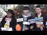 180112 EXO Lay Yixing @ The Golden Eyes Blessing Ceremony Interview CUT