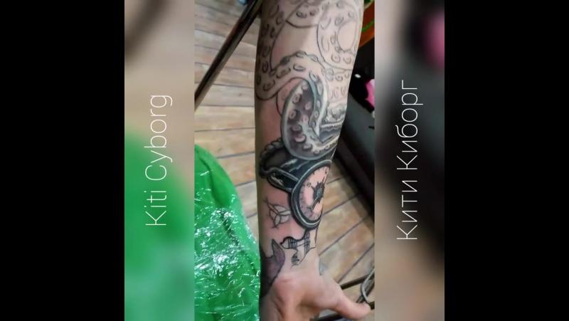 Кити Киборг | Tattoo | Kiti Cyborg