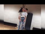 Очень красивый танец  девушки и парня