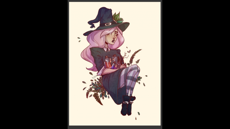 Witch-tumbler by Red Apple